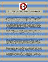 Norman OK Cell Phone Repair Store