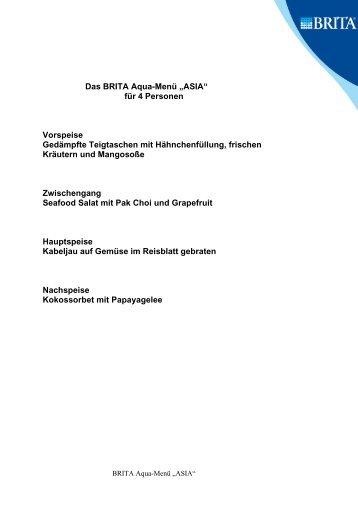 Mein Asiamenü (PDF, 27 KB) - Brita.net