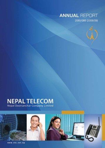 Annual Report 2065/066 - Nepal Telecom
