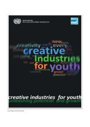 Creative Industries for Youth - Virtual Trade Policy Portal