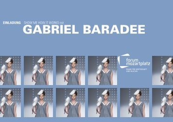 GABRIEL BARADEE - Creativwirtschaft.at
