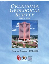 2007-2008 Annual Summary - Oklahoma Geological Survey ...