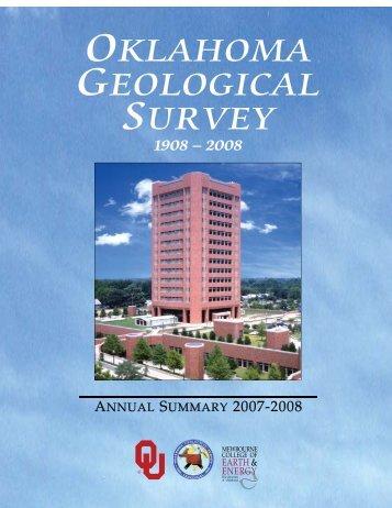 2007-2008 Annual Summary - Oklahoma Geological Survey ...