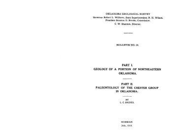 Bulletin 24 - Oklahoma Geological Survey