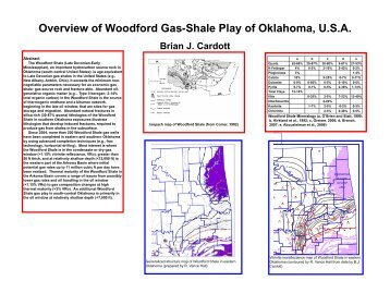 Overview of Woodford Gas-Shale Play of Oklahoma, U.S.A. ...