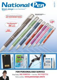 Download a Catalogue - Promotional Products
