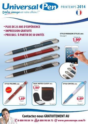 Téléchargez le catalogue - Promotional Products