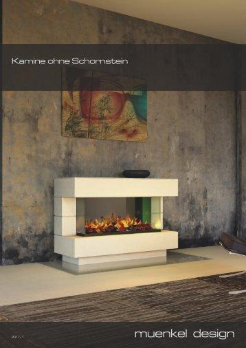 Kamine ohne Schornstein
