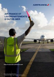 lire le dossier de presse - Air France