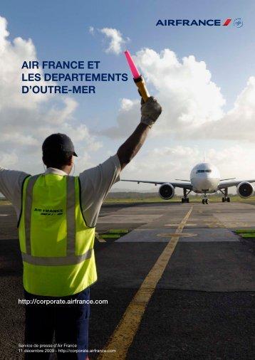 lire le dossier de presse - Air France