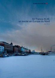 Air France-KLM, un leader en Europe du Nord