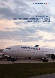 Montevideo, nouvelle destination d'Air France en Amérique du Sud
