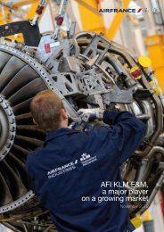 AFI KLM E&M, a major player on a growing market - Air France