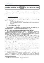 detailed methodology - Air France