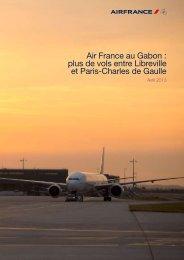 Télécharger le dossier de presse - Air France