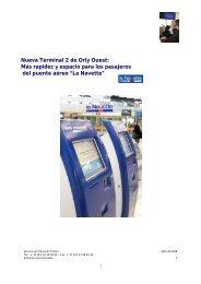 Nueva Terminal 2 de Orly Ouest: Más rapidez y espacio ... - Air France