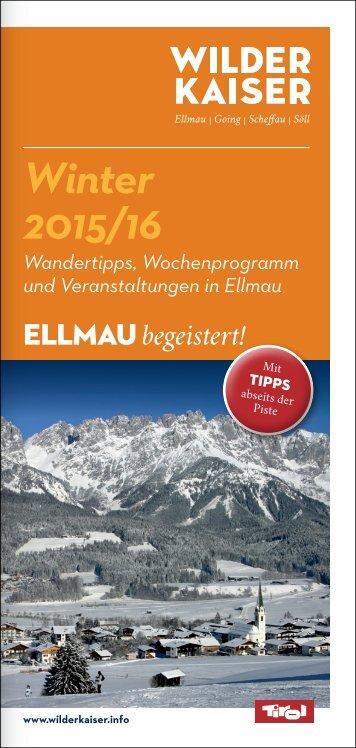 Ellmau - Winter 2015/16