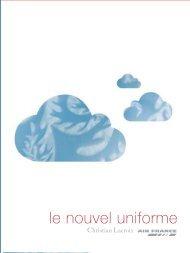 Le nouvel uniforme d'Air France créé par Christian Lacroix