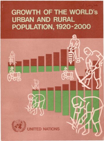 Growth of the World's Urban and Rural Population ... - Development
