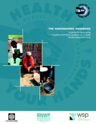 the handwashing handbook - The Global Public-Private Partnership ...
