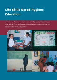 Life skills-based hygiene education - IRC International Water and ...