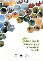 Trois ans de parcours pour le tourisme durable - UNEP