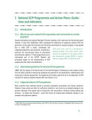 National SCP Programmes and Action Plans - Development