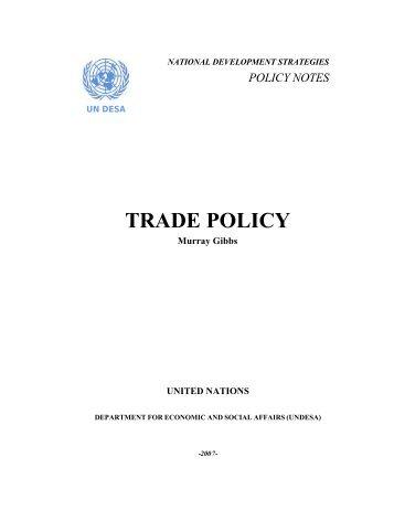 Trade Policy Note Final-rev08 - Development