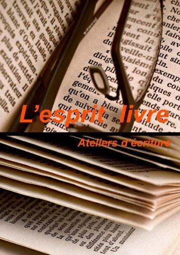 Téléchargez le catalogue - L'esprit Livre
