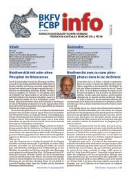 Nr. 2 - Bernisch Kantonaler Fischereiverband