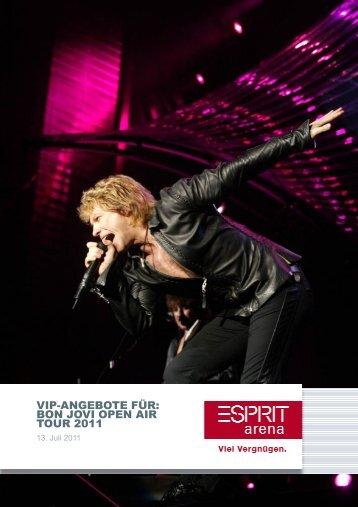 Bon Jovi VIP-Angebot - Esprit Arena