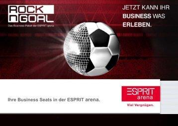 110706 VS RocknGoal-Angebot 18 ... - Esprit Arena