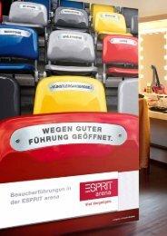 Buchungsformular ESPRIT arena Kindergeburtstag