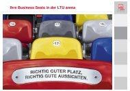 Ihre Business Seats in der LTU arena - Esprit Arena