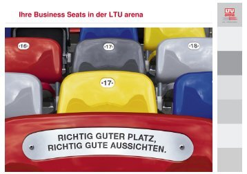 Ihre Business Seats in der LTU arena - Esprit Arena
