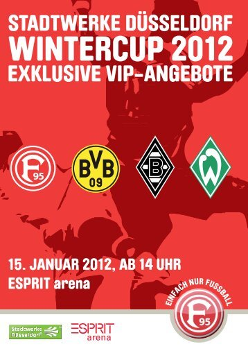 EXKLUSIVE VIP-ANGEBOTE - Esprit Arena