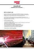 COLDPLAY - Viva la Vida-Tour - - Esprit Arena - Page 3