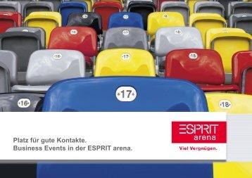 Tagung und Pressekonferenz - Esprit Arena