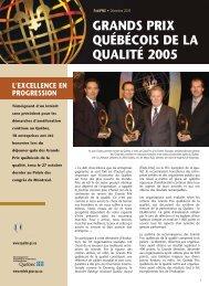 Grands prix QUALIT.-2005 - Développement économique ...