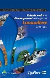 Lanaudière - mdeie - Gouvernement du Québec