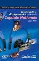 Capitale Nationale - mdeie - Gouvernement du Québec