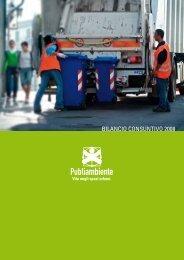 BILANCIO CONSUNTIVO 2008 - Publiambiente SpA
