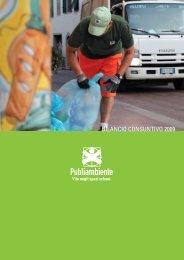 BILANCIO CONSUNTIVO 2009 - Publiambiente SpA