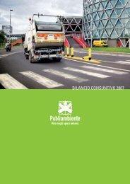 BILANCIO CONSUNTIVO 2007 - Publiambiente SpA