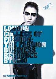 FBRS Leaflet - London College of Fashion
