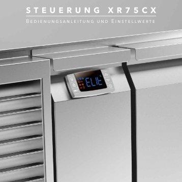 Bedienungsanleitung der Steuerung XR75CX