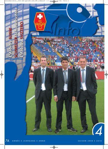 4 - Schweizerischer Schiedsrichter Verband
