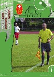 année i jahrgang i anno saison 2009 i 2010 - Schweizerischer ...