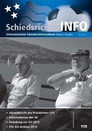 Nr 119 - Schweizerischer Schiedsrichter Verband