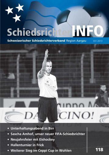 Nr 118 - Schweizerischer Schiedsrichter Verband